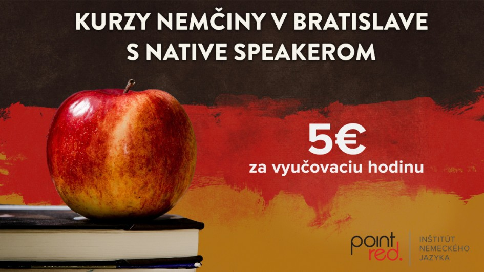 Kurzy nemčiny v Bratislave s native speaker lektorom uš od 5€