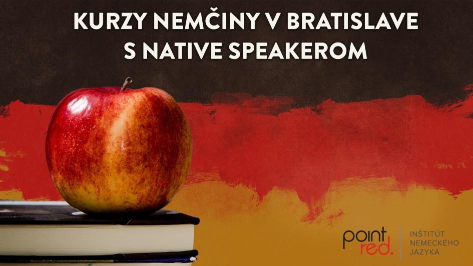 Kurzy nemciny v Bratislave s native speakerom