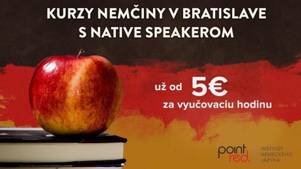 Kurz nemčiny v Bratislave